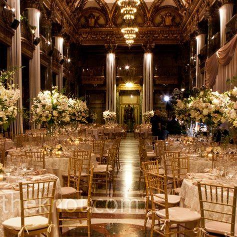 Elegant And Formal Reception Wedding Reception Hall Formal Wedding Reception Elegant Wedding Reception