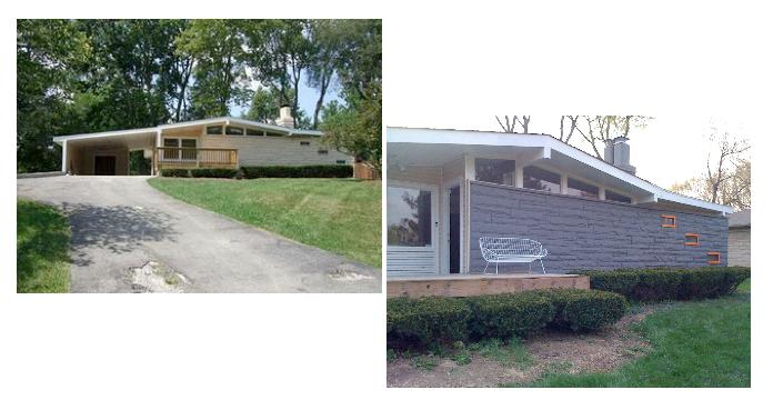 midcentury modern homes mid century modern retro pinterest mid century modern and architecture - Mid Century Modern Home Exterior Paint Colors