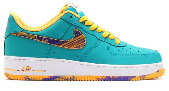 air force 1 green and yellow