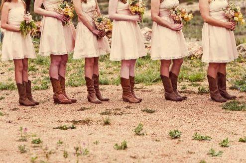 Cowboy boots! Oh yeah! :D