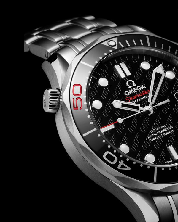 OMEGA Seamaster 300 M Chronometer James Bond 50 years Limited Edition For  VIP pricing call Ryan
