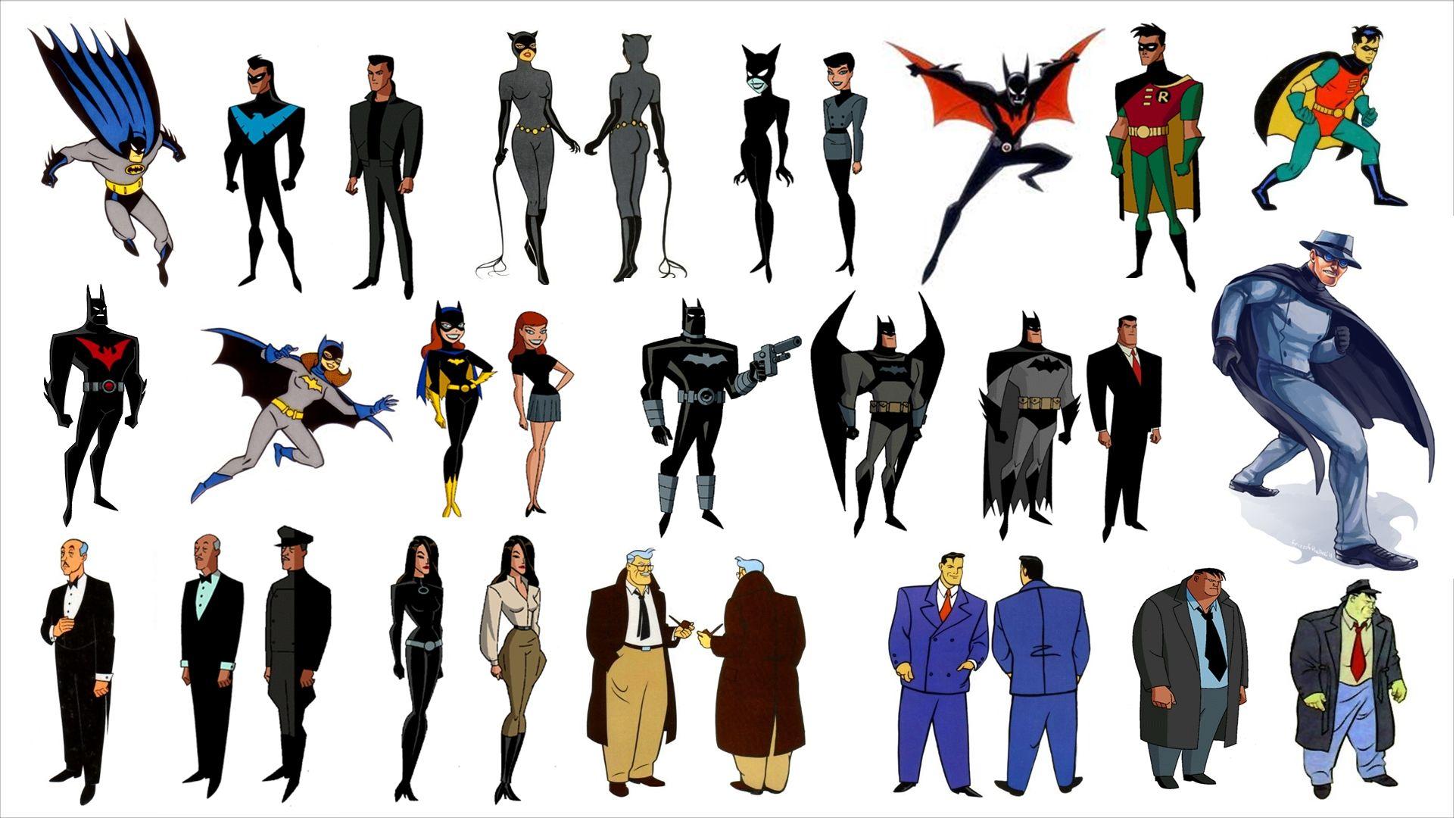 Batman: The Animated Series | art board | Batman the