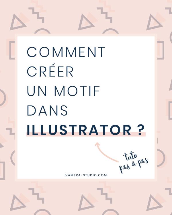 apprenez  u00e0 cr u00e9er un motif dans illustrator tr u00e8s facilement
