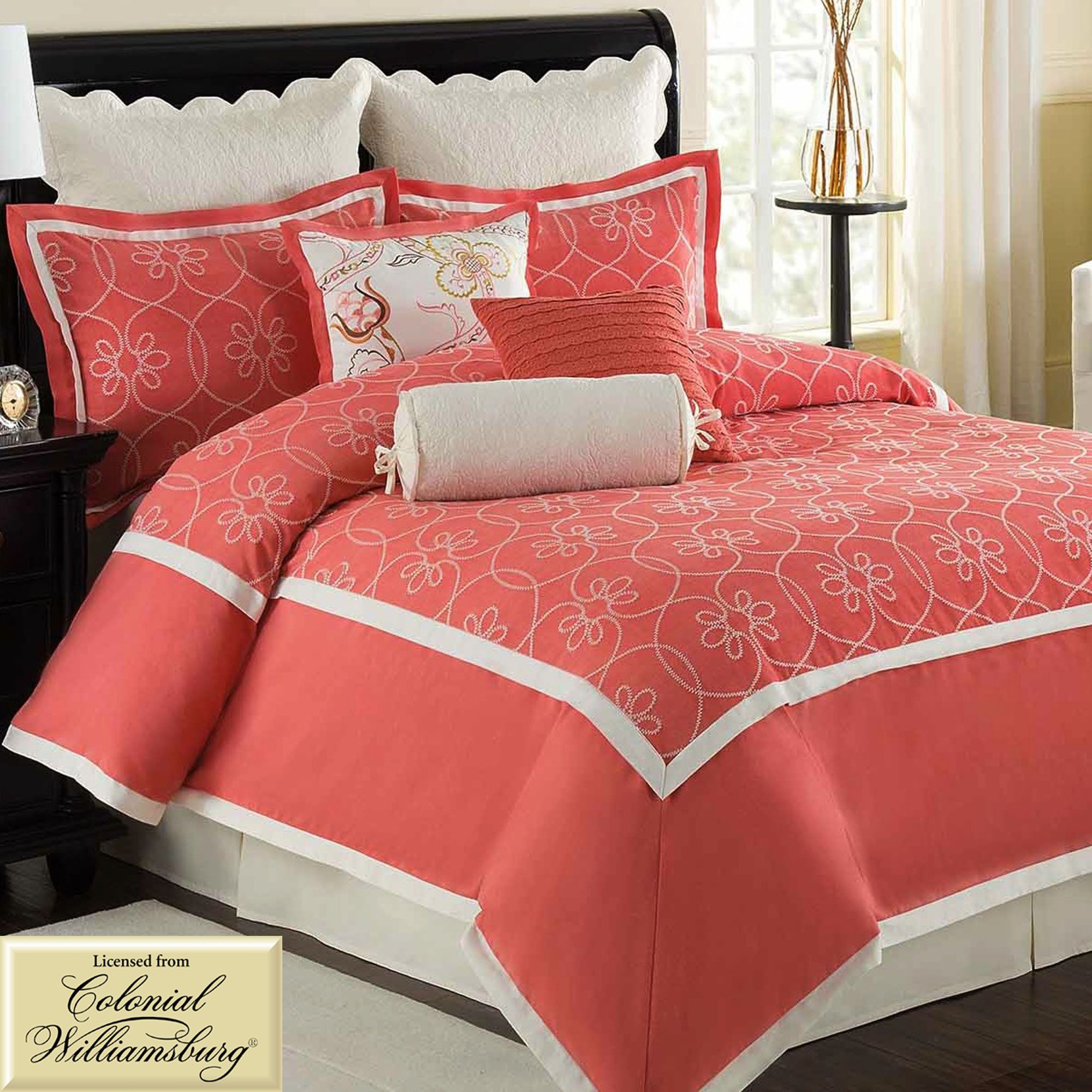 Ariana Coral forter Bedding Beddings Pinterest