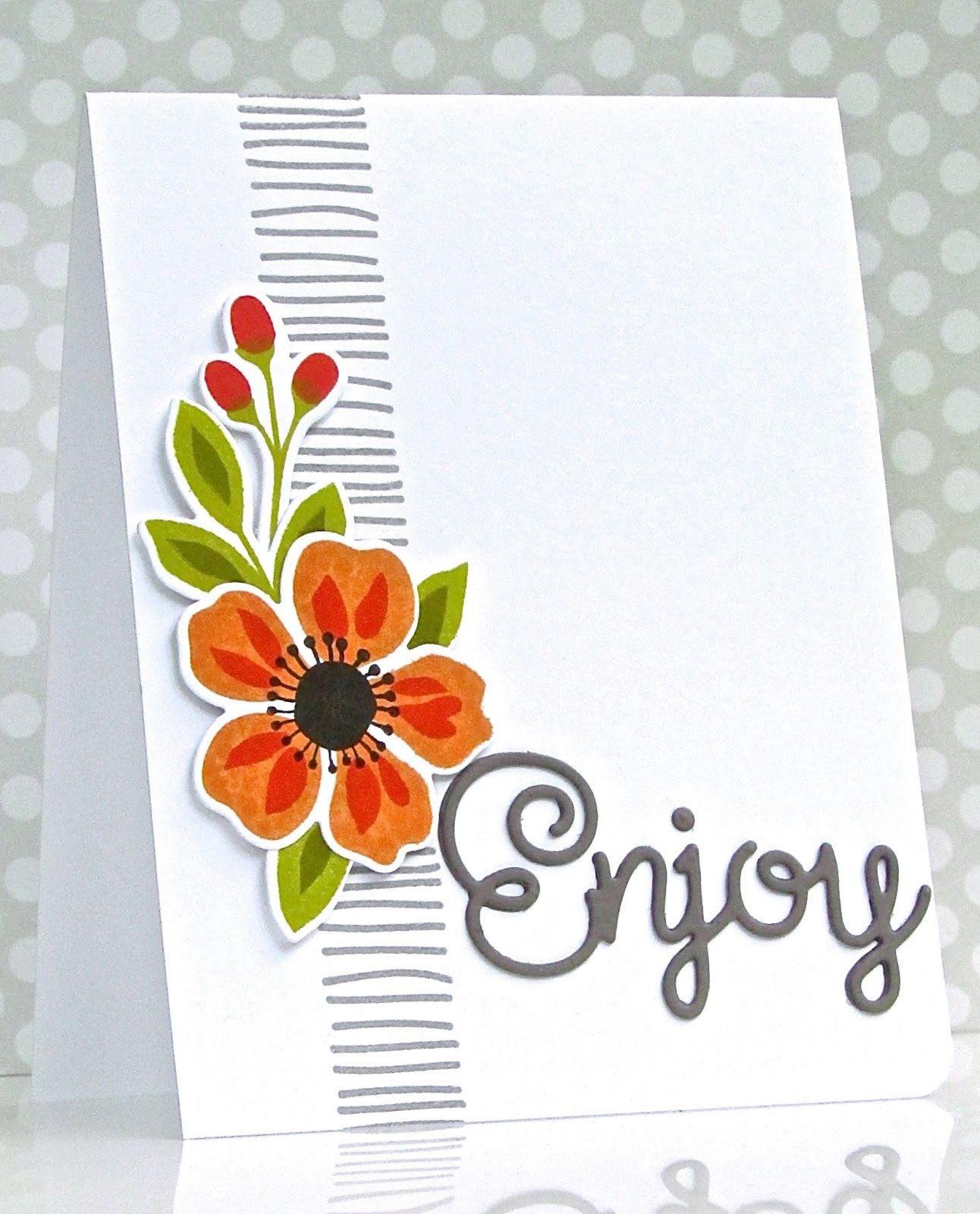 Mft Flashy Florals Background Stripe Is Sss Birthday Flowers