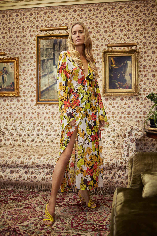 5ca0cf9eb0 Georgette Robe Dress by Attico. Vogue Paris in English