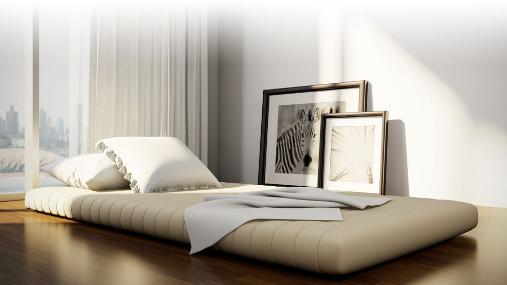 T&N Original Mattress Bed styling, Contemporary bedroom