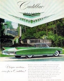 1960 cadillac ad