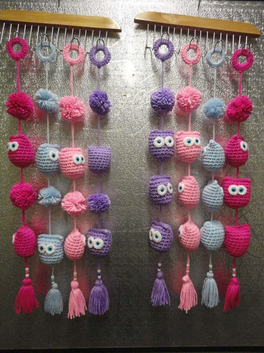 Buhos tejidos al crochet adornos souvenir ni os 60 00 en mercadolibre animalitos Adornos a ganchillo