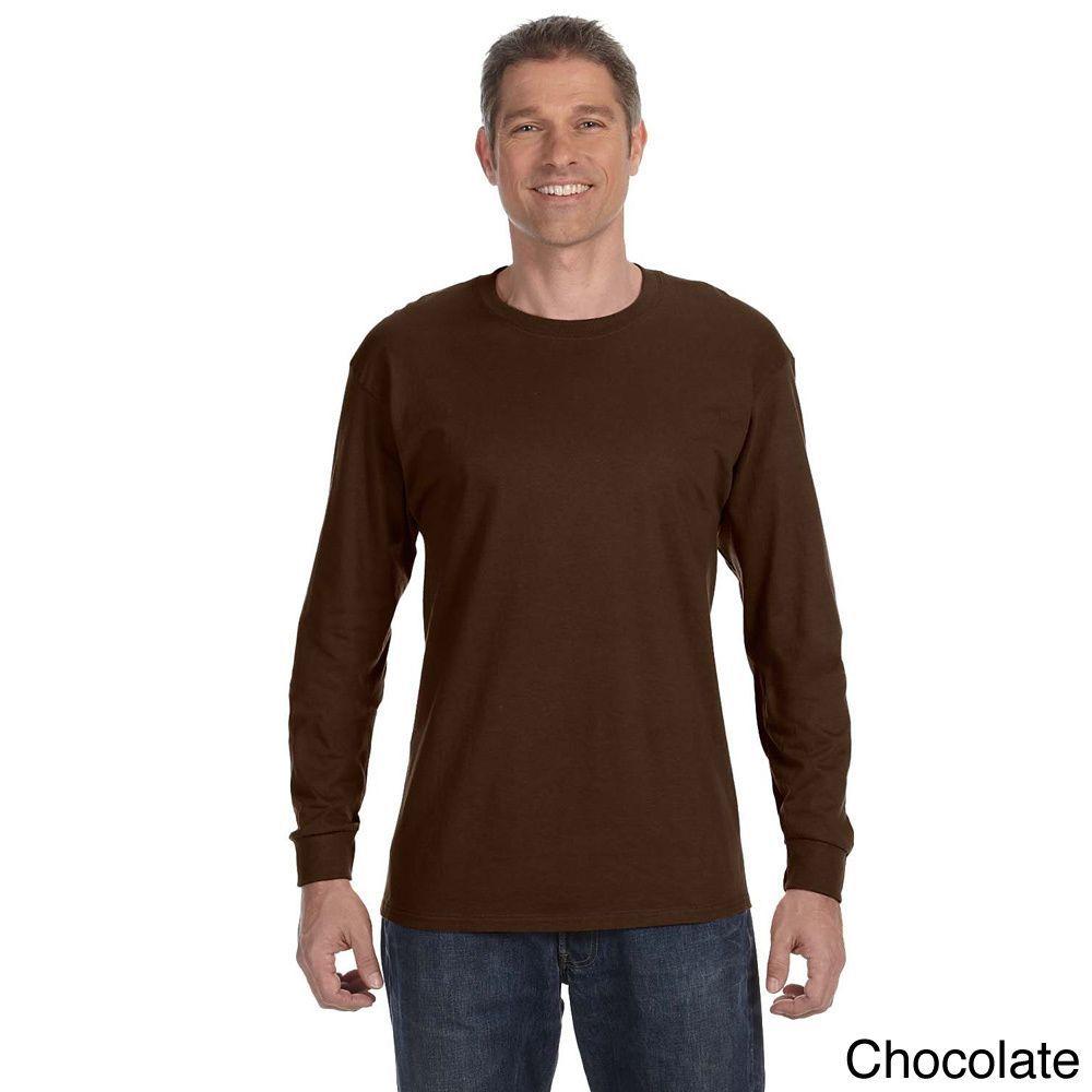 6de020e3a0f Jerzees Men s 50 50 Heavyweight Blend Long Sleeve T-shirt (2XL ...