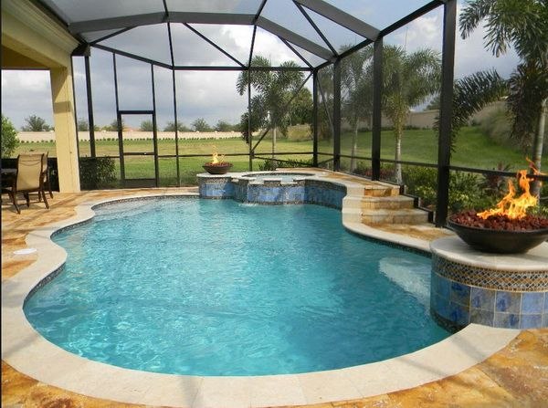 A Gallery Of 50 Residential Freeform Pools From The Master Pools Guild Small Indoor Pool Indoor Swimming Pool Design Indoor Pool Design