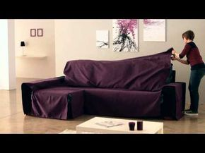 Cubre Chaise Longue de zos Cosidos - YouTube | 1 To do | Pinterest on chaise sofa sleeper, chaise recliner chair, chaise furniture,