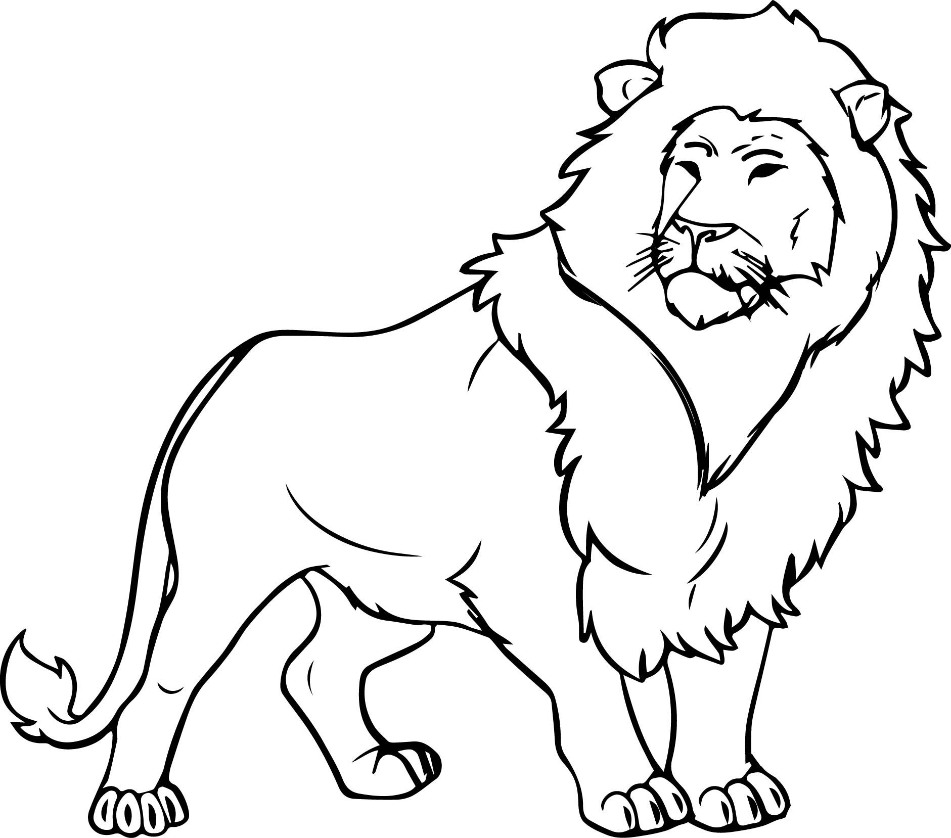 The Best Lion Coloring Pages Ideas For Kids