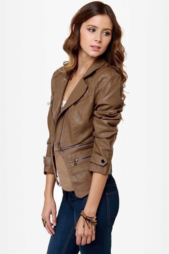 Natalie Portman Leather Jackets In Usa Uk Canada Germany France Australia Russia Vegan Leather Jacket Brown Vegan Leather Jacket Leather Jacket