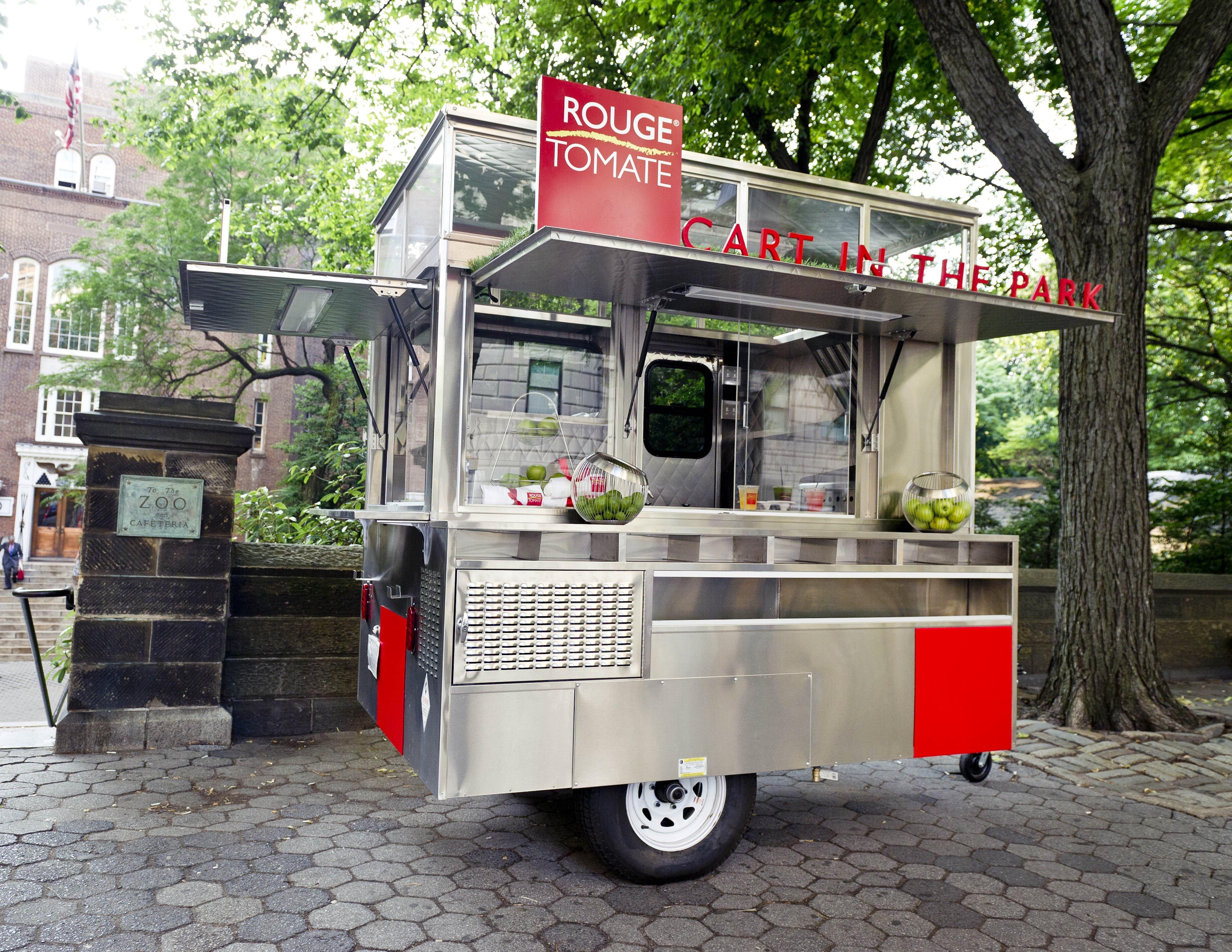 Rouge Tomate New York food cart Google Search Dekorasi