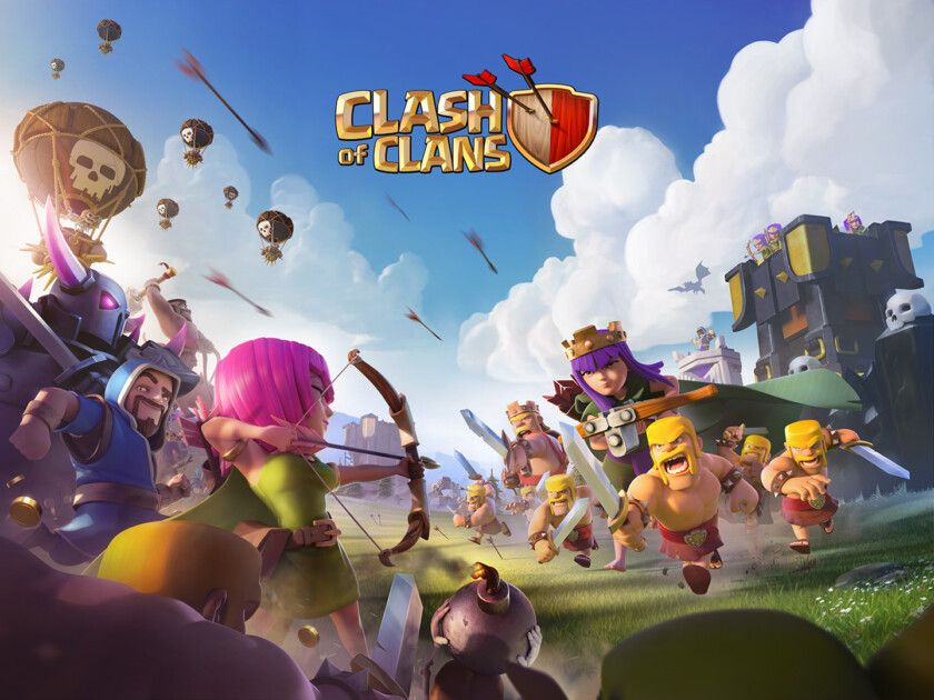 Clash Of Clans Update Hub Bat Spell Nerfed Again In January