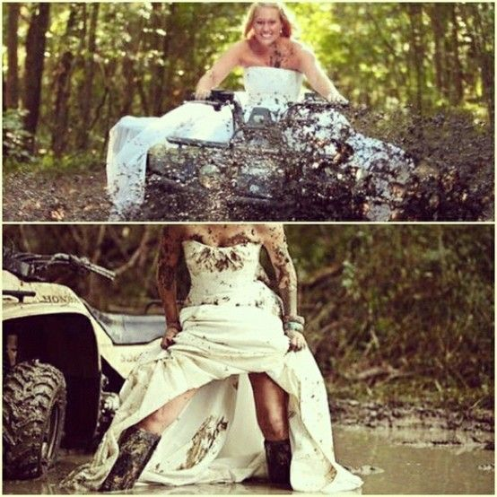 Red Necks Waddings Redneck Wedding Ideas Weddinary Yes Like Going Muding This How Wont My Wadding Some Day