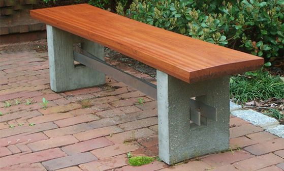 Douglas Thayer Woodworking Design Stone Garden Bench Wooden Garden Benches Outdoor Bench Seating
