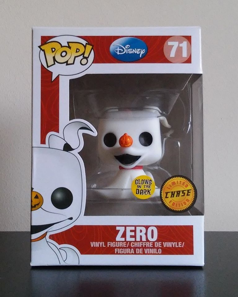 Pop Disney 71 Zero Chase Glow In The Dark Vinyl Figure