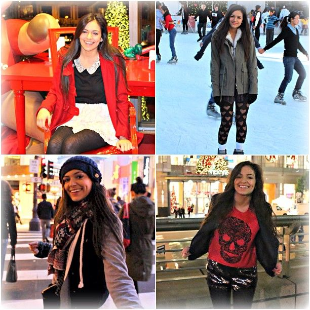 Fashion .@Bethany Mota ... - Bethany Mota New Video Is Live On Macbarbie07! My Holiday Style