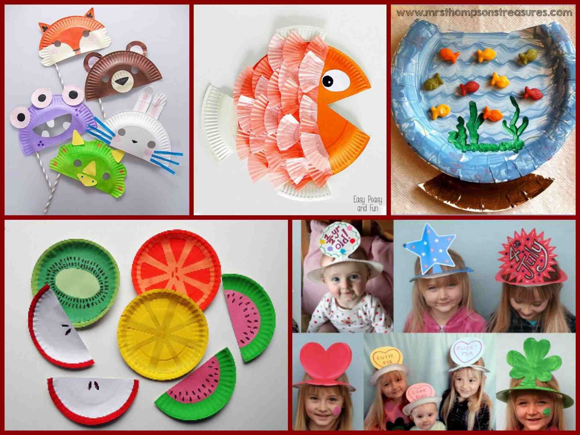 Arts And Crafts For Toddlers Ideas Reciclaje, Cumpleaños