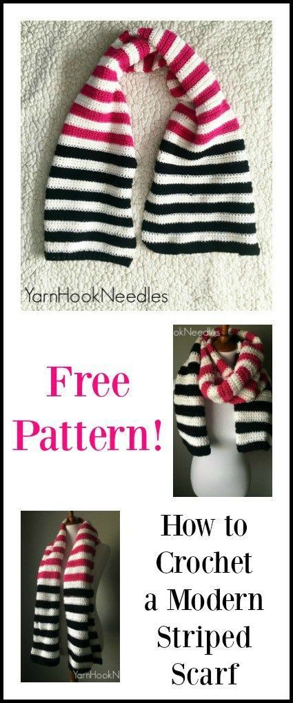 Modern Crochet Scarf with FREE Pattern! – YarnHookNeedles | Yarn|Hook|Needles - #crochet #modern #needles #pattern #scarf #yarnhookneedles - #HairstyleChristmas #crochethooks