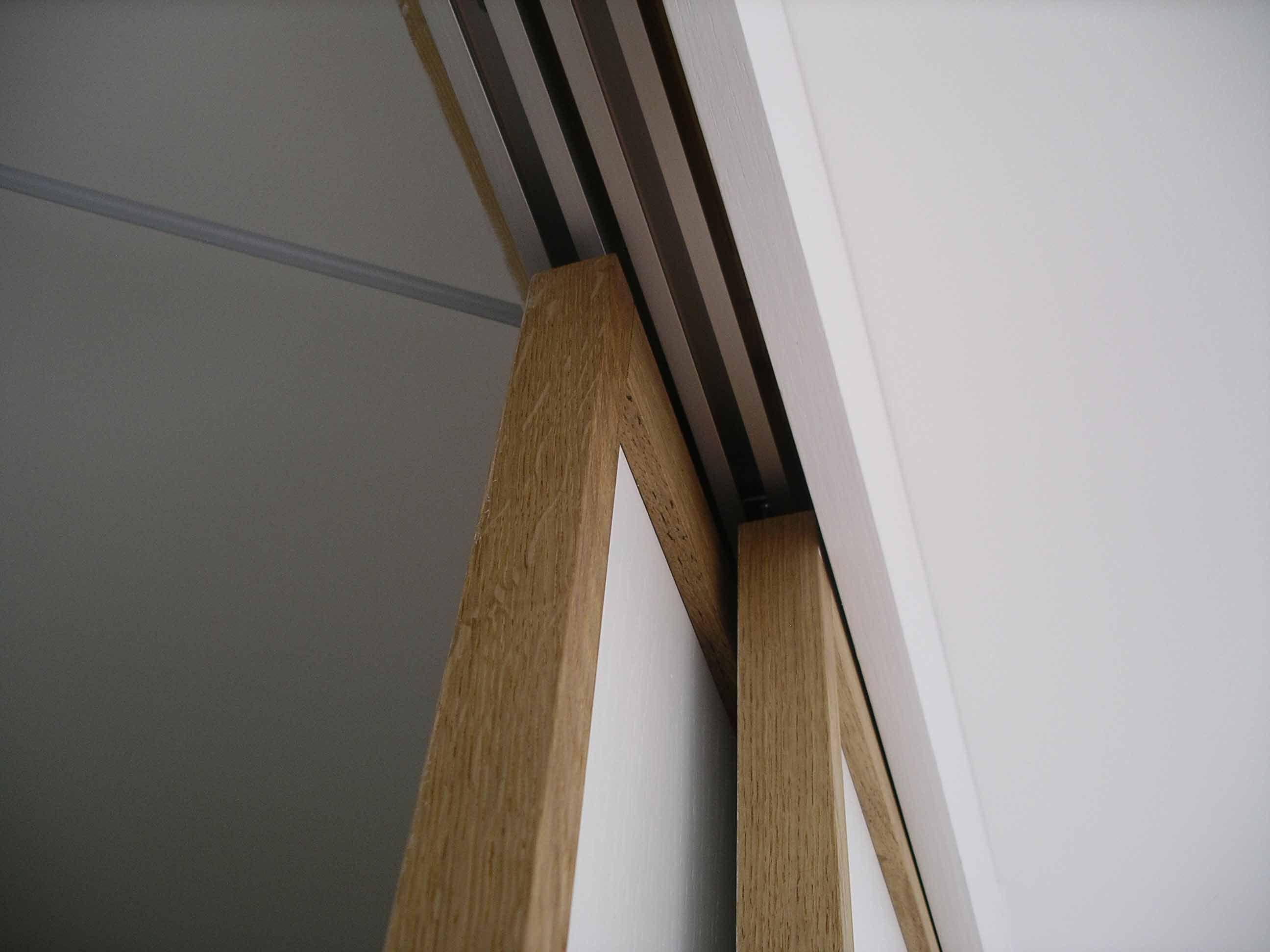 japanese sliding doors bespoke made wardrobe by peter henderson furniture brighton uk
