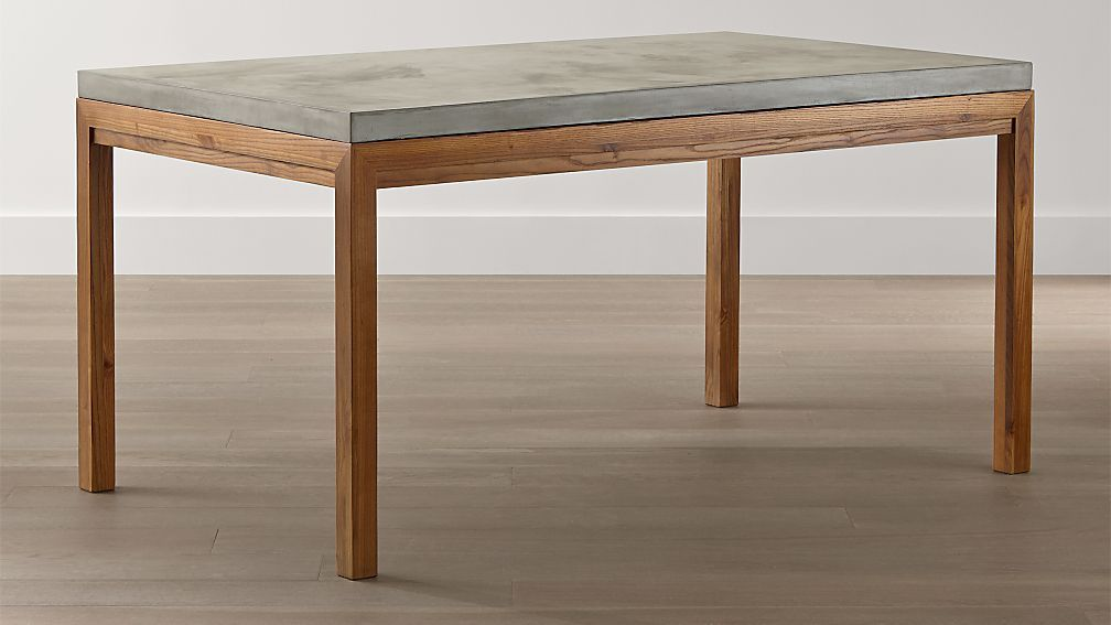 Image Result For Concrete Wood Dining Table Dining Table