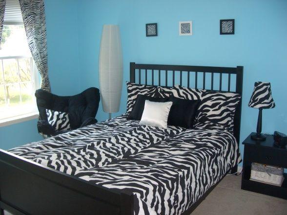 zebra bedroom ideas   My New Zebra Bedroom!! - Girls\' Room ...
