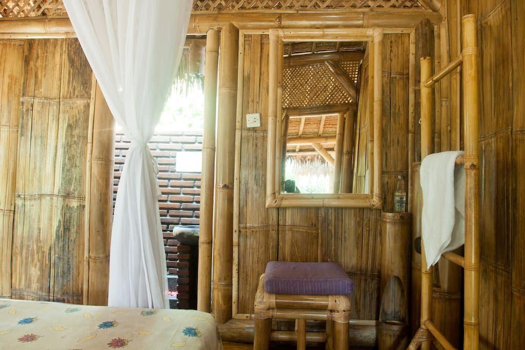 Bamboo Cottages Rural Bali Village Cottages for Rent in