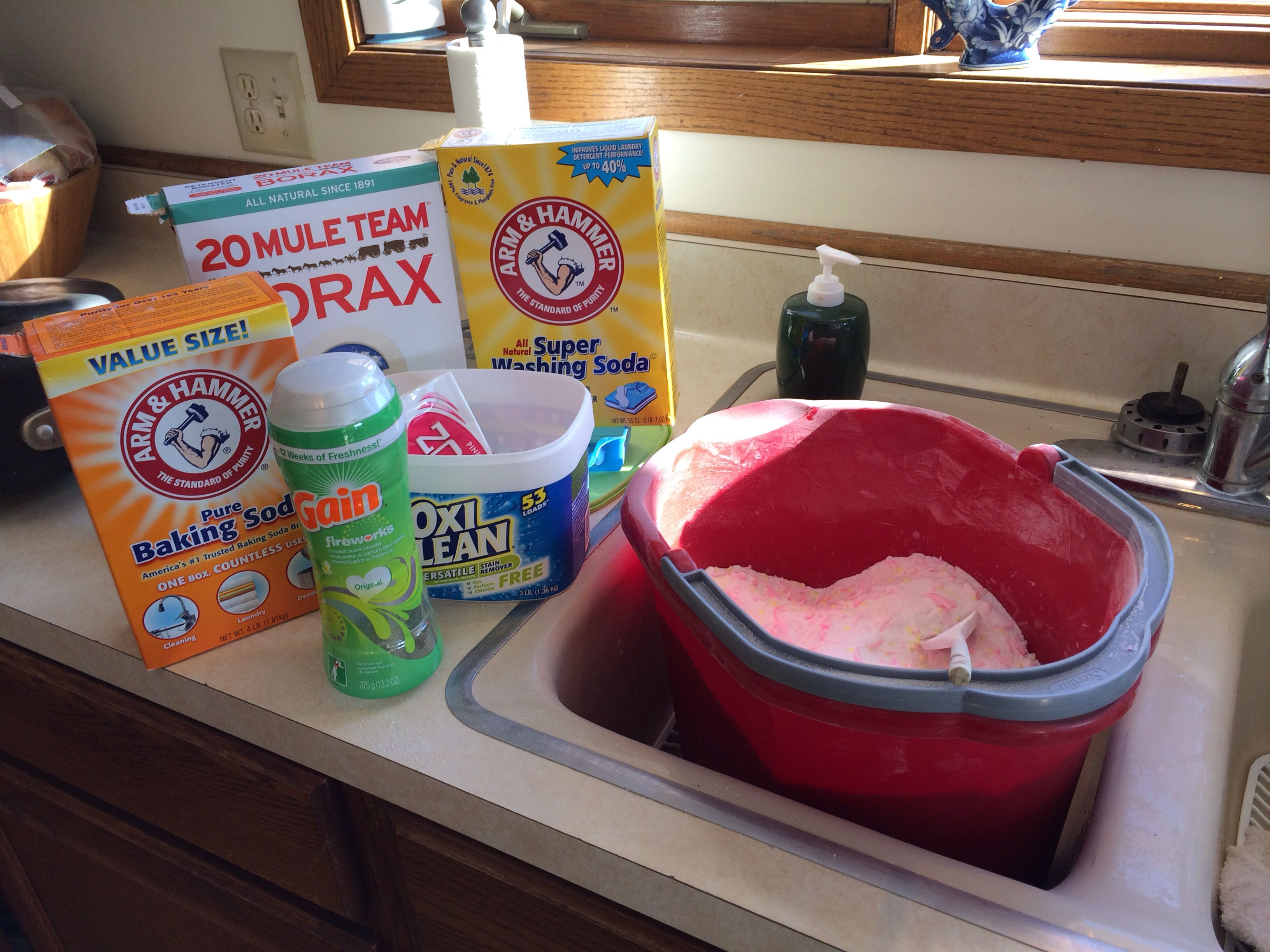 Is arm and hammer powder laundry detergent he - Homemade He Laundry Detergent Smells Awesome Works Great Costs Less