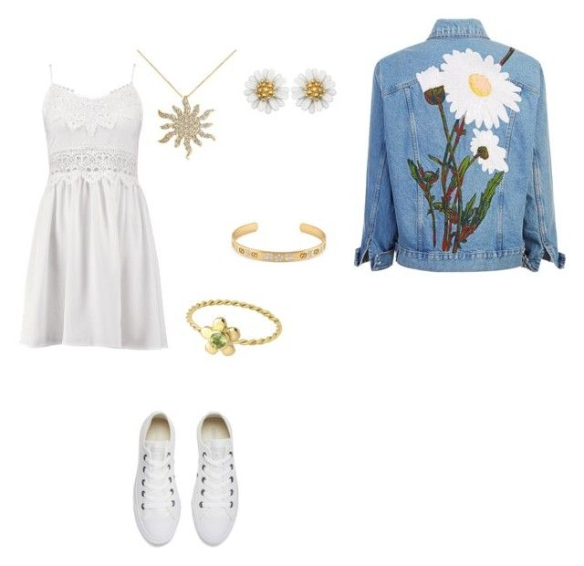 """""""229"""" by martesaltro on Polyvore featuring Boohoo, Converse, Gucci and Allurez"""