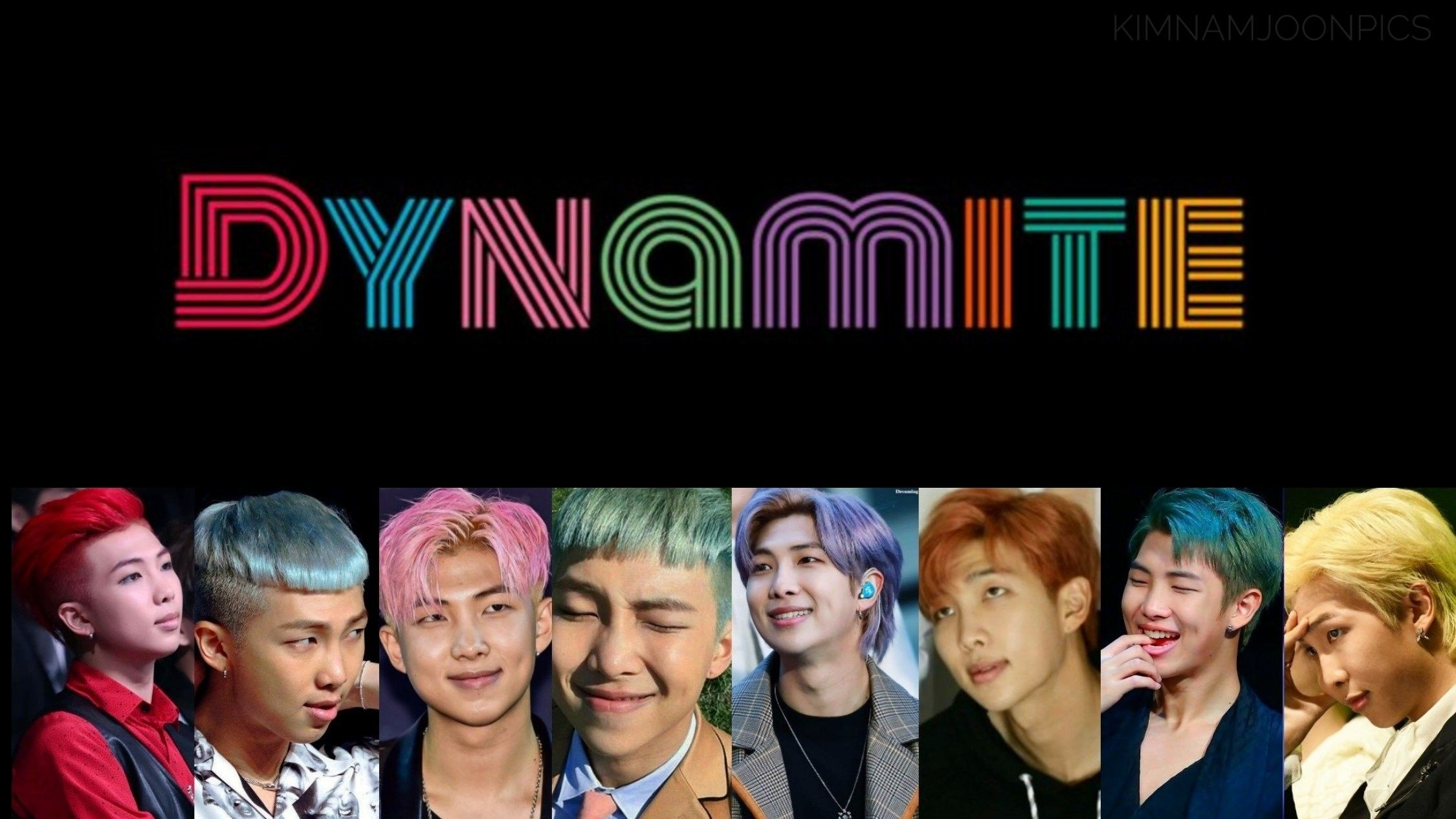 Omg Bts Dynamite In 2020 Bts Rap Monster Namjoon Kim Namjoon