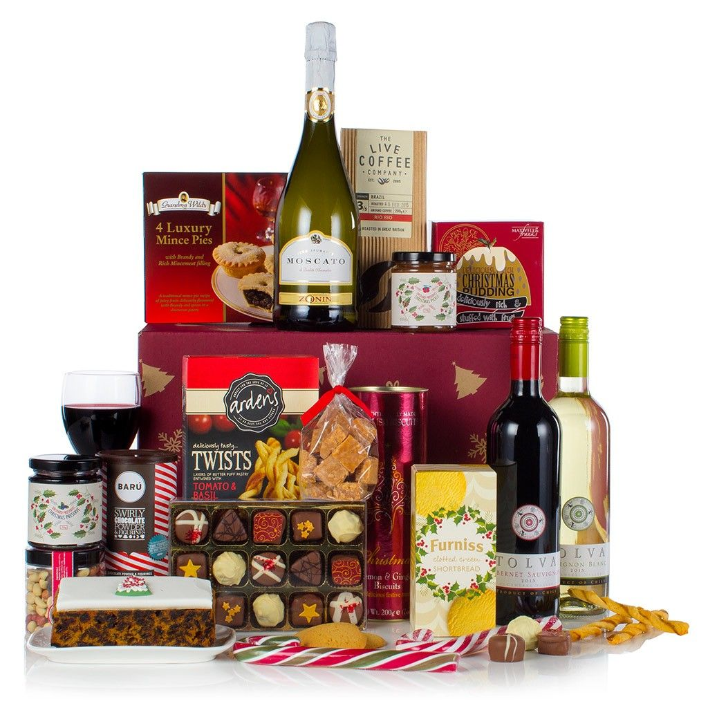 Taste Of Christmas Luxury Christmas Hamper Virginia Hayward Ltd Christmas Hamper Christmas Luxury Gift Hampers