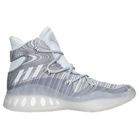 sale retailer a9026 732b5 Mens adidas Crazy Explosive Basketball Shoes  Finish Line