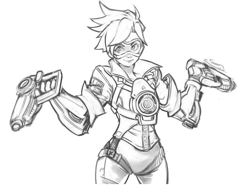 Pin by Abbaton Abberday on Coloring pages | Overwatch ...