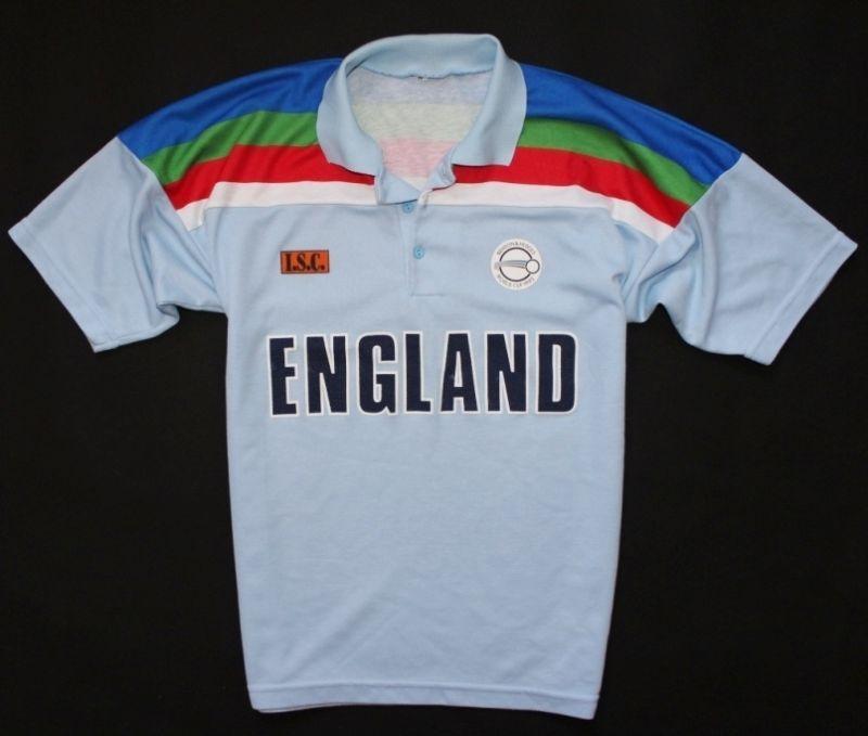 54b79f5f363 England Isc 1992 Cricket World Cup Shirt Jersey Man - M