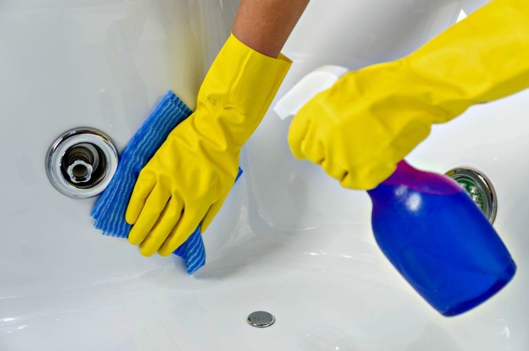 Bacteria alert how to clean a jetted tub or bathroom