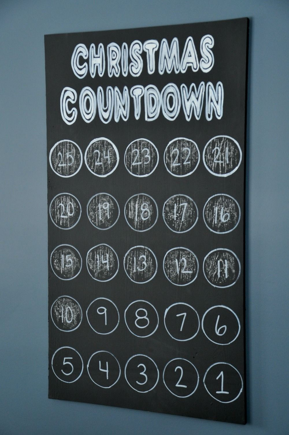 Christmas Countdown Wall Art!
