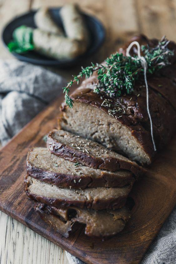 Photo of Make really good seitan yourself · Eat this! Foodblog • Ve …