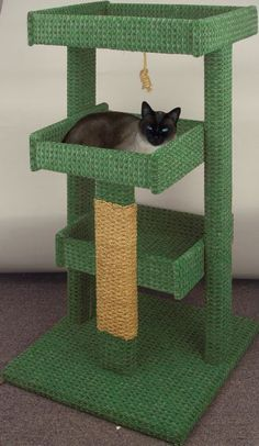 Diy Pallet Cat Tree Cat Tree With Images Cat Tree Plans Diy