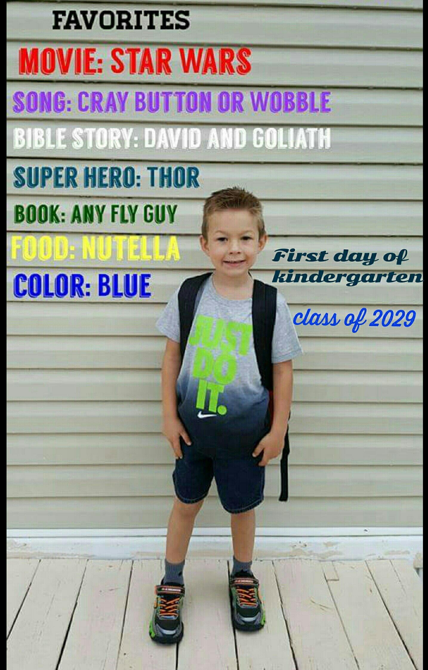 Kindergarten Photos