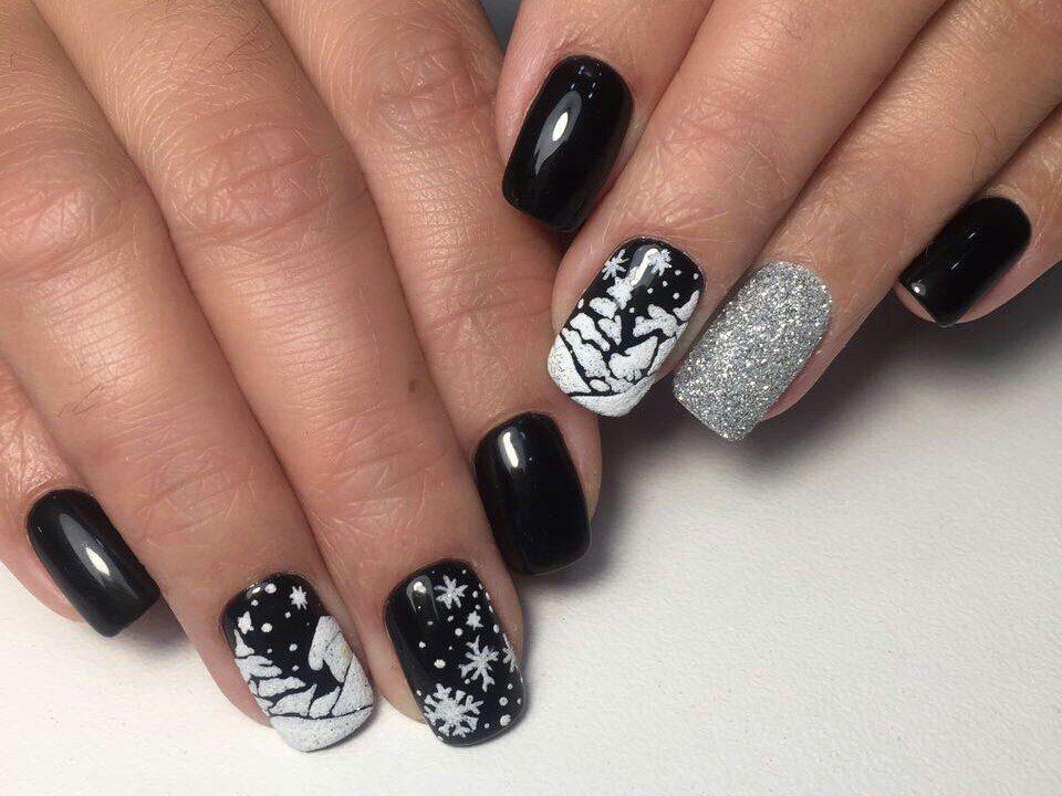 Nail Art 3854 Trendy Nail Art Designs New Year S Nails Winter