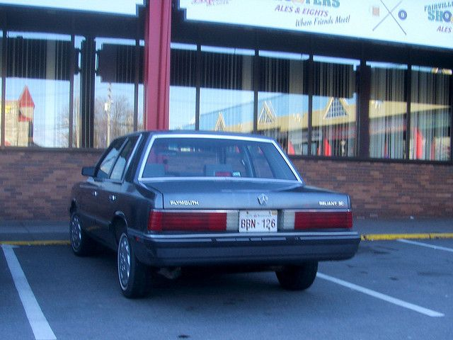 1986 1989 Plymouth Reliant K By Markmitchellbrown Via Flickr