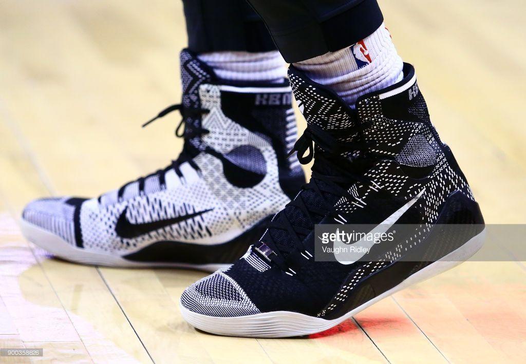 new style 2b111 b6890 News Photo  The Nike Kobe 9 Elite BHM shoes worn by DeMar.