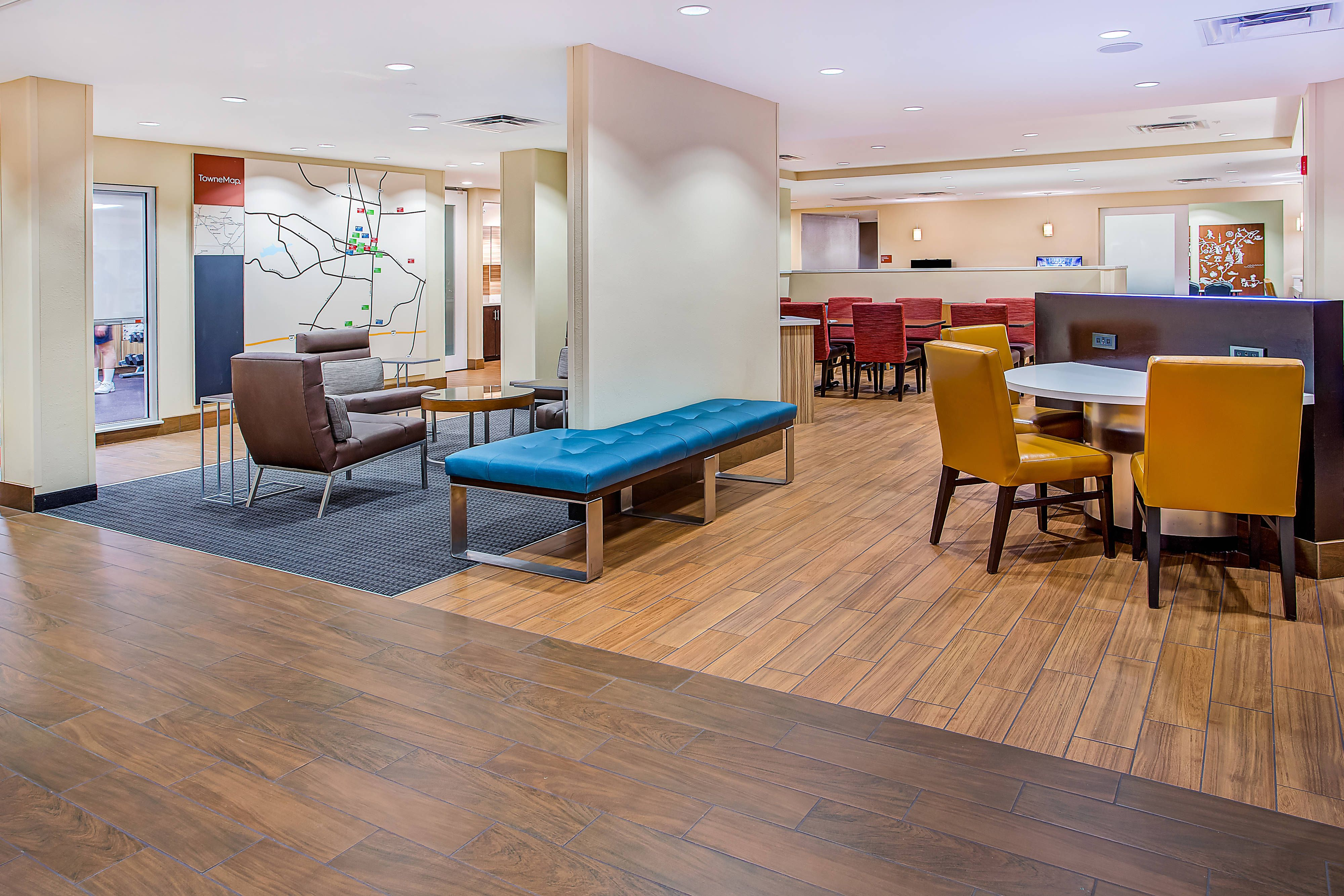 TownePlace Suites Cookeville Lobby hotel, Relax,