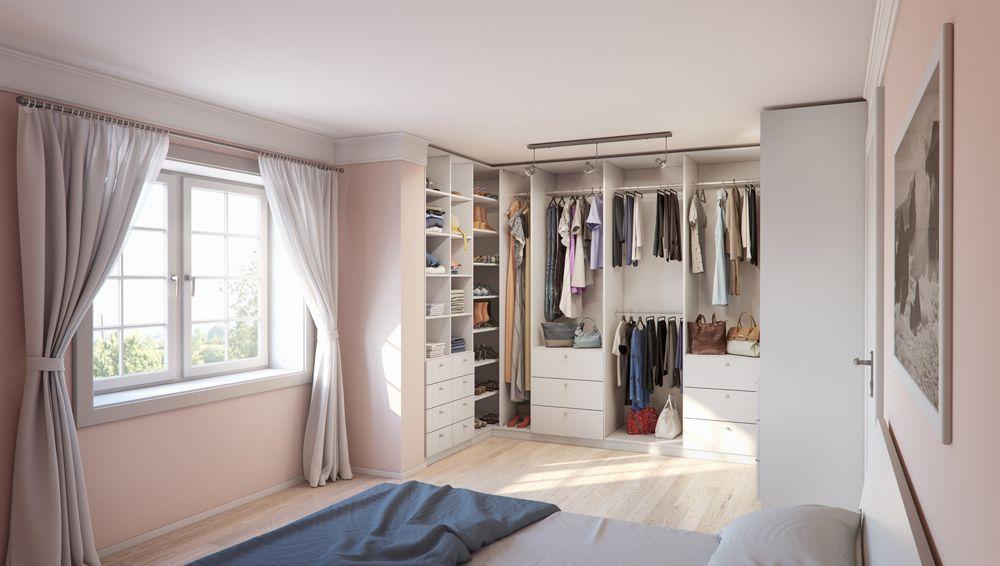 Ein begehbarer Kleiderschrank ist der Traum vieler Frauen! Erfülle ...