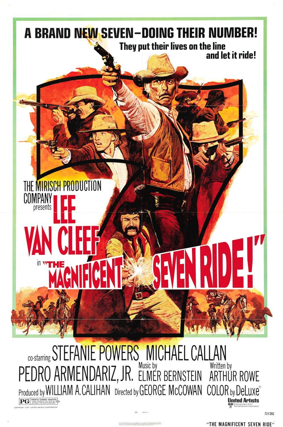 the magnificent seven inspired by seven samurai by akira