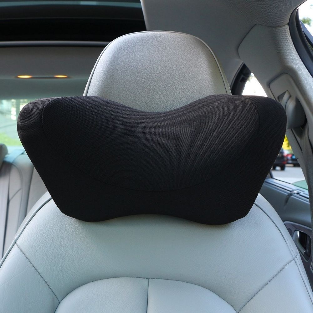 Premium Memory Foam Car Neck Pillow Car Seat Adjustable