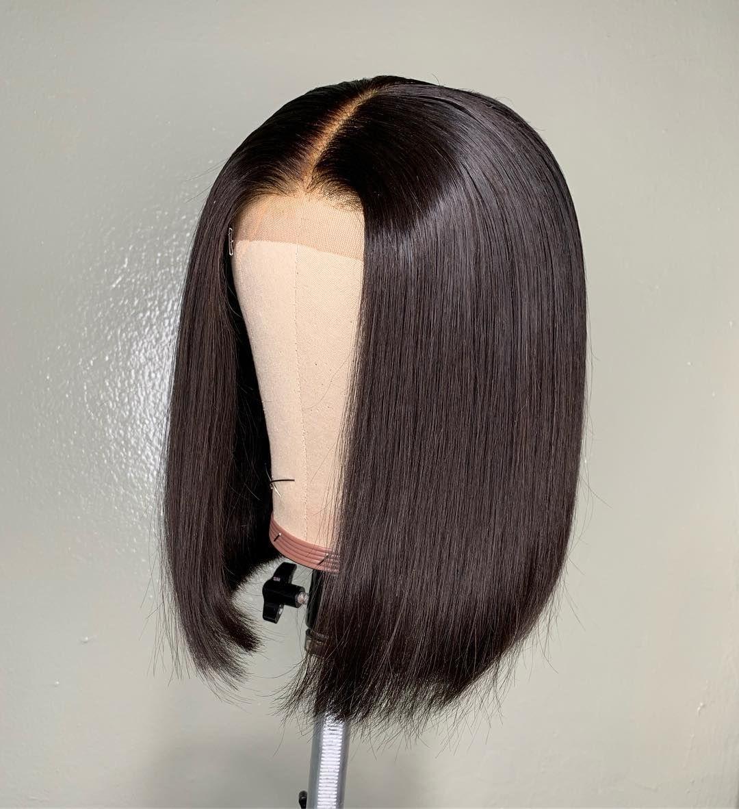 Bob Wig Human Hair Glueless Lace Wig Human Hair Lace Wigs Hair Mannequin Hair Styles